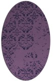 rug #1116518 | oval traditional rug
