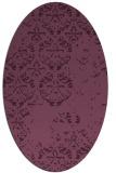 rug #1116593 | oval traditional rug