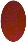 rug #1116685 | oval traditional rug