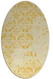 rug #1116735   oval damask rug