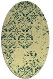 rug #1116751 | oval traditional rug