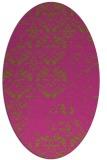rug #1116762 | oval light-green faded rug