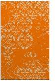 rug #1116786 |  orange faded rug