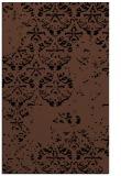 rug #1116802 |  brown damask rug