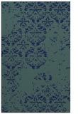 rug #1116826 |  blue damask rug