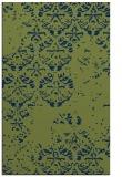 rug #1116830 |  blue damask rug