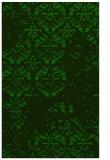 rug #1116846 |  green damask rug
