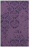 rug #1116886 |  purple damask rug