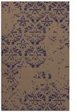 rug #1116894 |  blue-violet faded rug