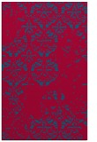 rug #1116910 |  blue-green graphic rug