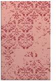 rug #1117014 |  pink graphic rug