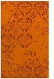 rug #1117054    red-orange damask rug