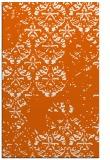 rug #1117066 |  red-orange damask rug