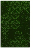 rug #1117070 |  light-green damask rug