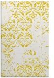 rug #1117110 |  yellow faded rug