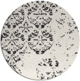 rug #1117160 | round faded rug