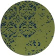 rug #1117198 | round faded rug