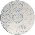 rug #1117204 | round damask rug