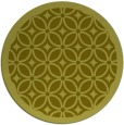 rug #111721 | round light-green circles rug