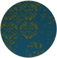 rug #1117235 | round faded rug