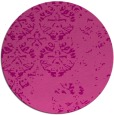 rug #1117374 | round pink traditional rug