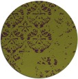 rug #1117394 | round purple faded rug