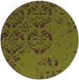 rug #1117394 | round purple graphic rug