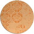 rug #1117428 | round faded rug