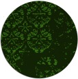 rug #1117438 | round light-green graphic rug