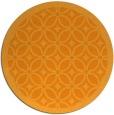 rug #111745 | round light-orange circles rug
