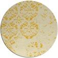rug #1117471 | round damask rug