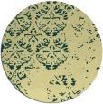 rug #1117487 | round traditional rug