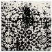 rug #1117894 | square white graphic rug
