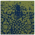 rug #1117934 | square green traditional rug