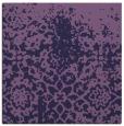 rug #1117990 | square purple faded rug