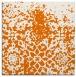 rug #1118098 | square orange graphic rug