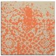 rug #1118102 | square orange traditional rug