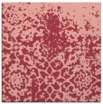 rug #1118118   square pink faded rug