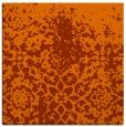 rug #1118158 | square red-orange traditional rug