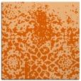 rug #1118162 | square red-orange faded rug