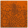 rug #1118166 | square red-orange traditional rug