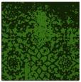 rug #1118174 | square light-green traditional rug