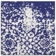 rug #1118186 | square blue faded rug