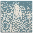 rug #1118198 | square blue-green faded rug