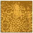 rug #1118218 | square yellow graphic rug