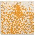 rug #1118254 | square light-orange natural rug