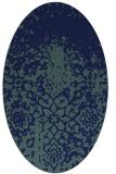 rug #1118299 | oval traditional rug