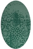 rug #1118314 | oval graphic rug