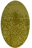 rug #1118341 | oval graphic rug