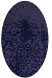 rug #1118346 | oval blue-violet popular rug